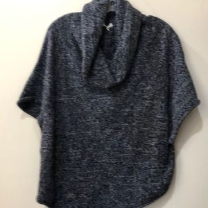 Joie cowl neck short sleeve sweater